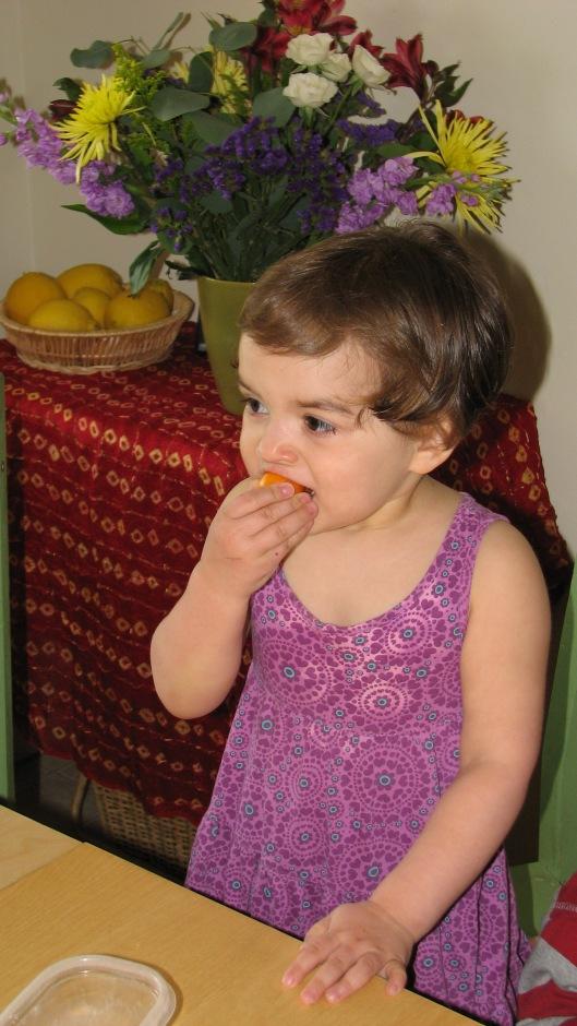 a kumquat & a haircut & almost 3